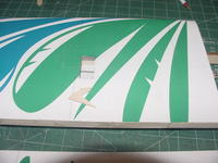 Name: MVC-255S.jpg Views: 368 Size: 36.4 KB Description: Here is the servo cutout in the wing.  I am going to finish off the front edge of the flaps with white monokote and hinge them with 3M Blenderm tape on both sides.