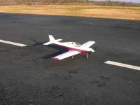 Name: Lancair_On_Runway.jpg Views: 447 Size: 108.6 KB Description: Just drivin' around - too windy (and chicken) to maiden today.
