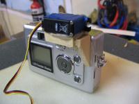 Name: camountSS 002E.jpg Views: 261 Size: 59.1 KB Description: Hot glue and balsa servo support.