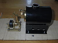 Name: IMGP2436.jpg Views: 183 Size: 130.7 KB Description: How the hardware is mounted.  There wont be enough space to take out the alcohol burner, so I will have to take the boiler out each time  I run her.