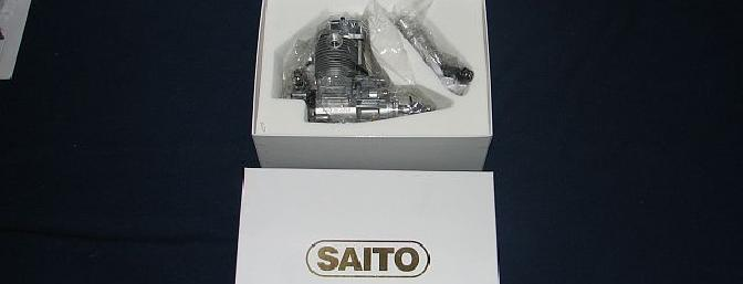 The gorgeous Saito .82 in its gold and white box.