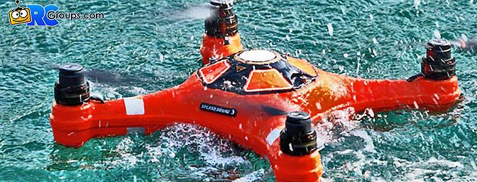 Splash Drone 3 - Waterproof Drone That Floats!
