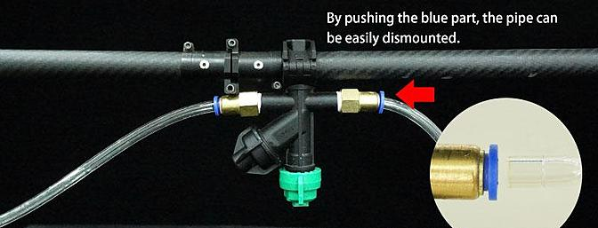 您可以选择4-6个喷嘴进行喷涂。 使用高压泵,喷涂时间为8-18分钟。 每个喷嘴喷射条数为1.2m,总共有4.8m的范围。 第12张