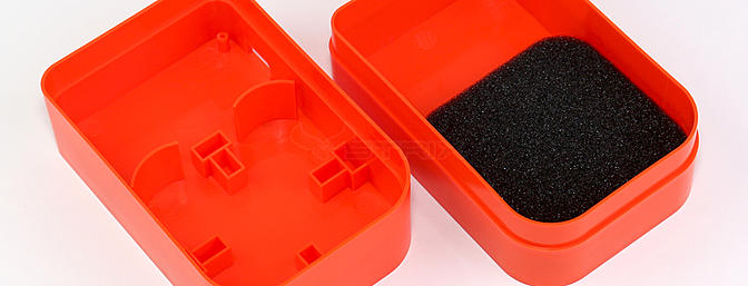 Optional stick on foam is included to help keep the batteries in place and give support to your FPV antenna.