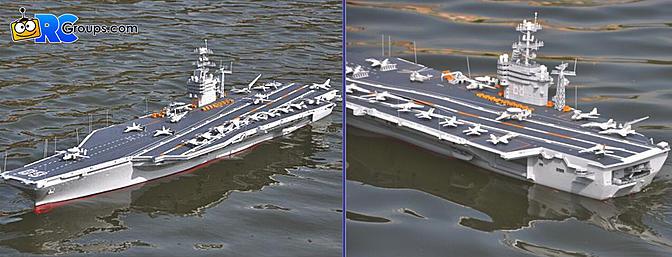 USS Nimitz 1:200 ARTR
