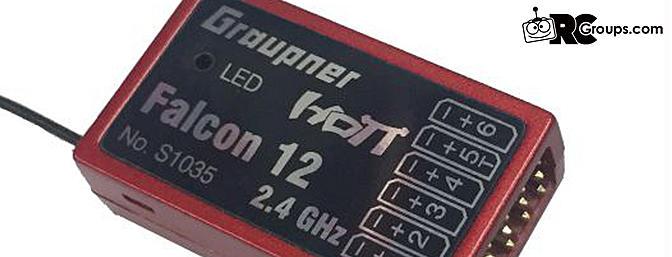Graupner Falcon 12 6CH Flight Controller
