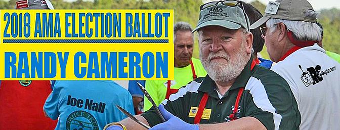 Randy Cameron - AMA Executive VP Candidate Endorsements