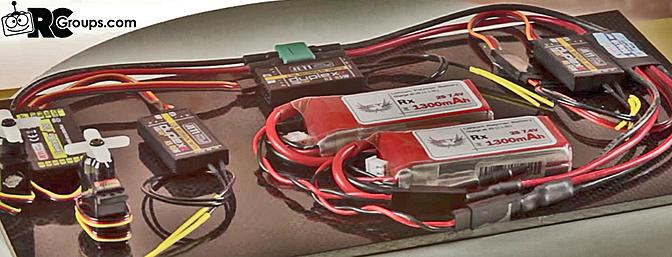 Jeti Central Box 100 Power Distribution Unit (Mini Dual Redundant System)
