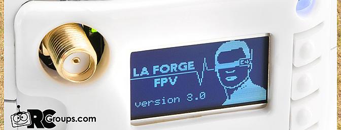 LaForge V2 Fatshark Module - V3 Firmware