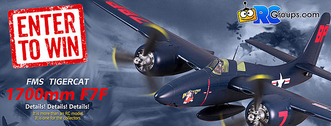 Enter to Win the FMS F7F Tigercat!!!!