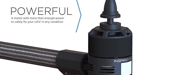More than enough power to safely fly your UAV in any condition