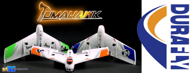 "Durafly Tomahawk Mini Class FPV Racing Wing 660mm (26"") PNF"