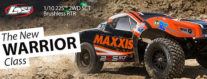Horizon 1/10 22S Maxxis 2WD SCT Brushless RTR with AVC