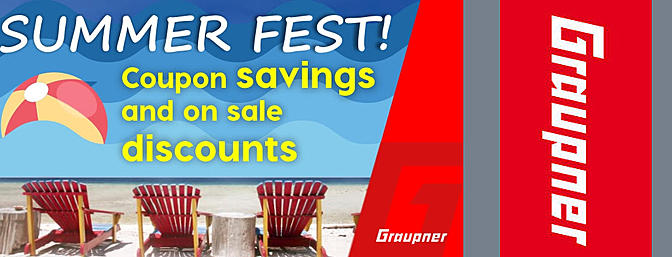 Summer Fest Sale at Graupner!