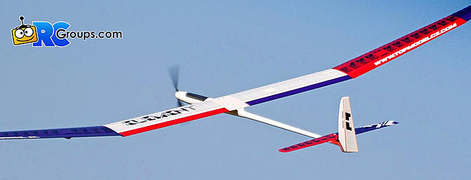 Esprit - Element 3.5E F5J/ALES Electric Sailplane (ARF)