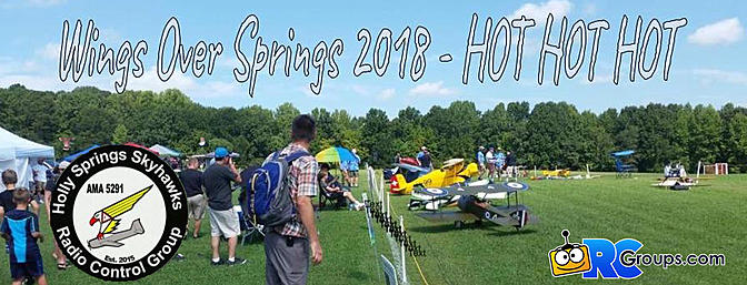Wings Over Springs 2018 - HOT HOT HOT