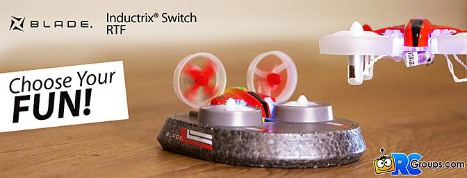 Inductrix Switch RTF