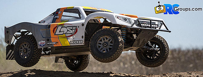 1/5 5IVE-T 2.0 4WD Short Course Truck Gas BND (LOS05014T2