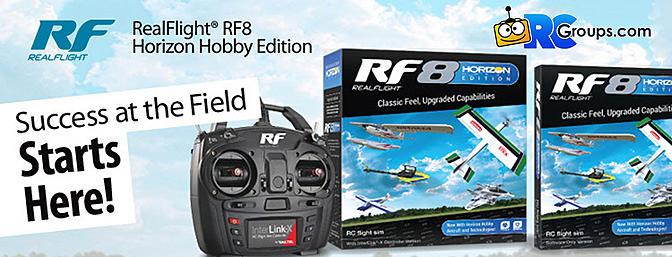 Fly Horizon Hobby Planes on Real Flight 8!
