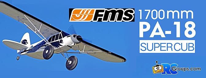 "FMS 1700mm (67"") Piper PA-18 Super Cub"