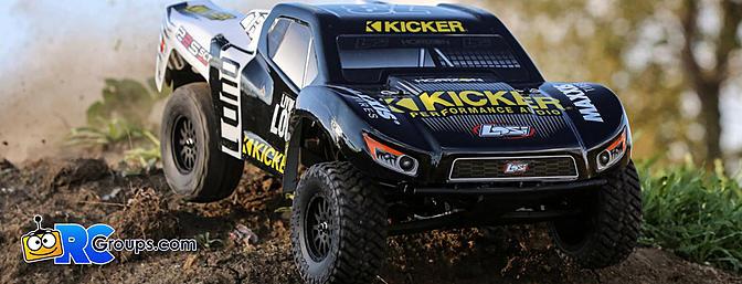 1/10 22S 2WD SCT RTR, Kicker (LOS03022T2)