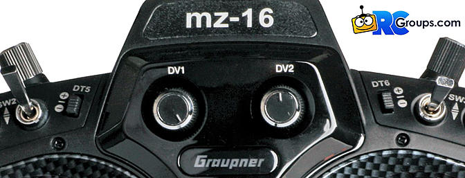 Graupner - MZ-16 16-CHANNEL 2.4 GHZ TELEMETRY RADIO