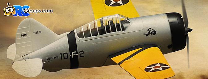 """Durafly Brewster F2A Buffalo 920mm (36"""") PNF"""