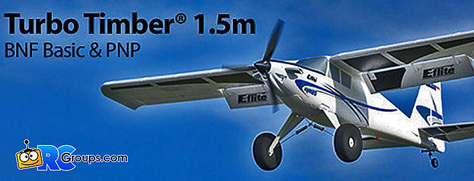 E-flite - Turbo Timber 1.5m BNF Basic with AS3X and SAFE Select (EFL15250)