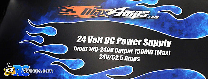 MaxAmps 24V Power Supply