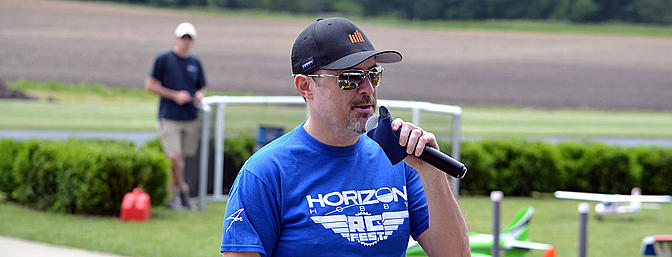 Chris Dickerson, president of Horizon Hobby.