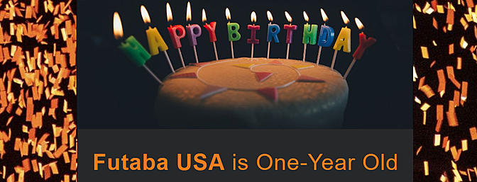 Futaba USA is One-Year Old Sale!