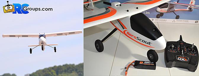 Horizon Hobby Hobbyzone AeroScout S 1.1m RTF - Review