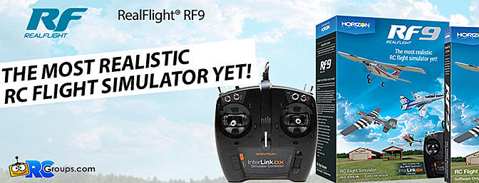 RF9 Flight Simulator with Spektrum Controller (RFL1100)