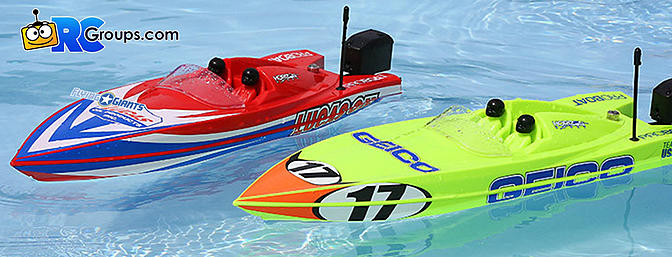 "17"" Power Boat Racer Deep-V RTR, Miss GEICO (PRB08044T1)"