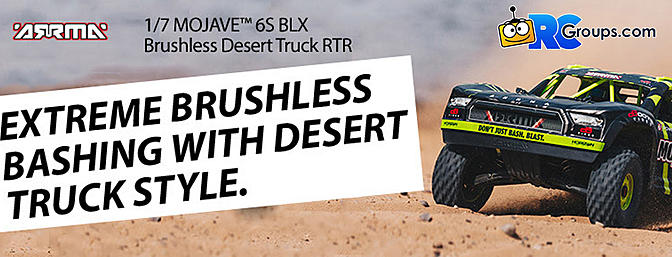 1/7 MOJAVE 6S BLX 4WD Desert Racer with Spektrum RTR