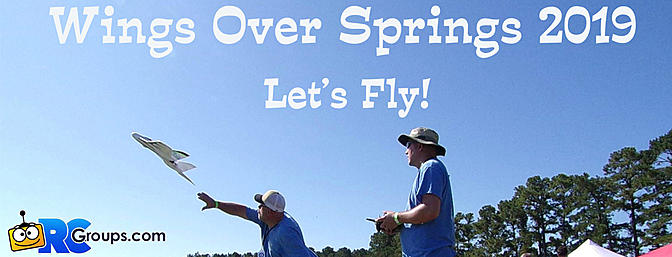 Wings Over Springs Charity Electric Fly In 2019 - Let's Fly!