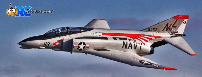 F-4 Phantom II 80mm EDF BNF (EFL7950)