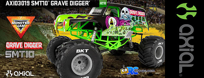 Axial - SMT10 Grave Digger 1/10th 4wd Monster Truck RTR