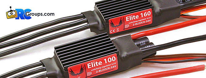 Esprit Elite Brushless ESCs with Telemetry