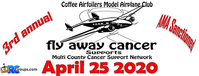 """Fly Away Cancer"" RC Event 2020"