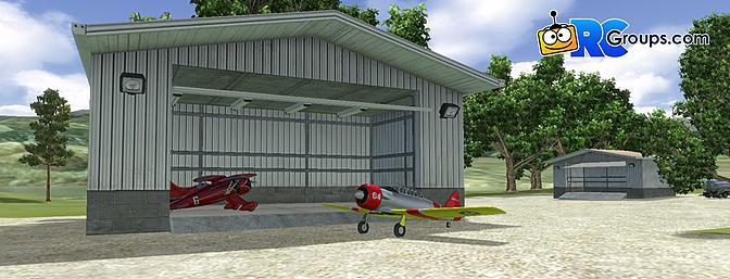 Visit the hangar!