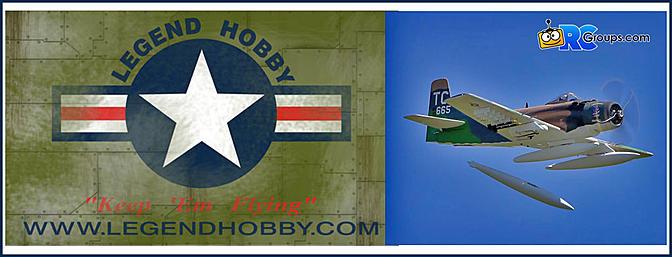 VQ WARBIRDS Becomes  LEGEND HOBBY!