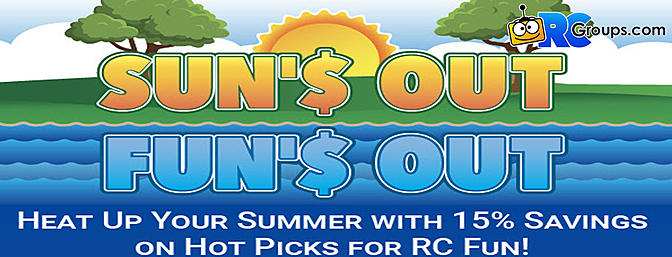 """Horizon Hobby - """"Sun's Out Fun's Out"""" Sale for 2020"""
