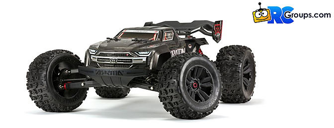 1/8 KRATON 4WD EXtreme Bash Roller Speed Monster Truck