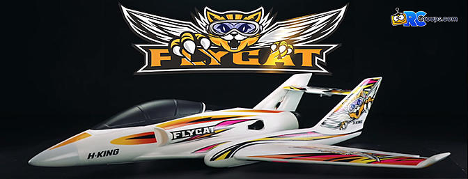 "H-King Flycat 70mm 12-Blade EDF Jet 1042mm (41"") (PNF)"