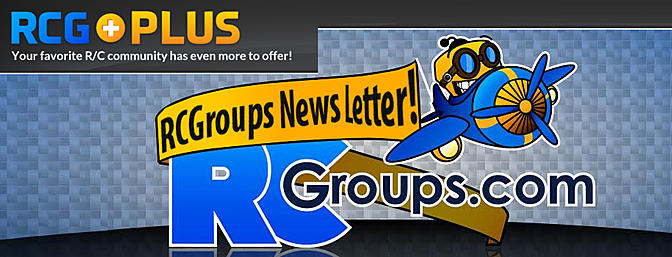 Join the RCG Newsletter and be a Plus Member!