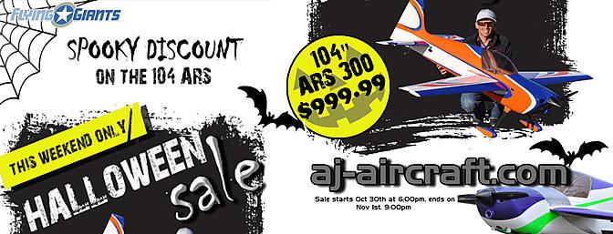 AJ Aircraft - Spooky Sale!