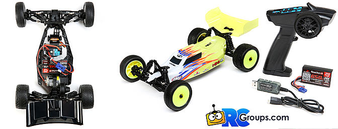 Losi -1/16 Mini-B Brushed RTR 2WD Buggy