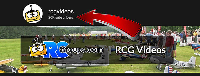 RCGroups Video Channel - Over 20,000 Subs!