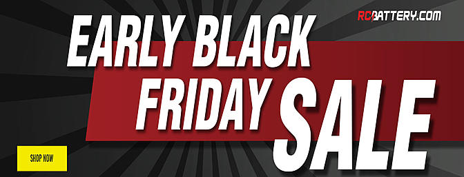 RCBattery.com Early Black Friday Sale